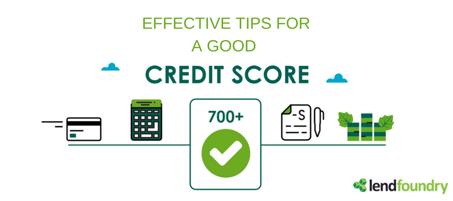 Effective Tips for Good Credit Score