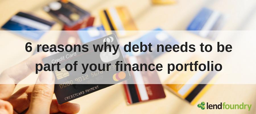 Debt is not always bad